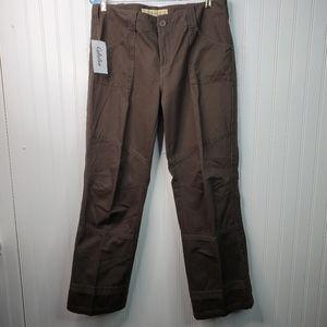 Cabelas Casuals Brown Jord Cargo Pants NWT 16